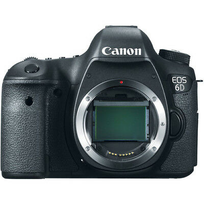 Canon EOS 6D 20.1 MP CMOS Digital SLR Camera with 3.0-Inch LCD Body Only
