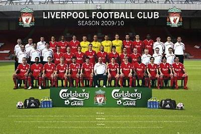 Liverpool Team Photo : 2009 - 2010 - Maxi Poster 61cm x 91.5cm new and sealed