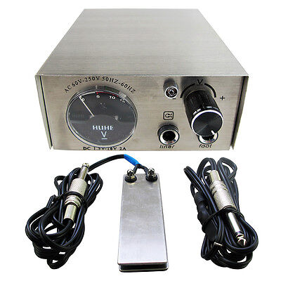Solong Tattoo Stainless Steel Pointer Tattoo Power Supply P104