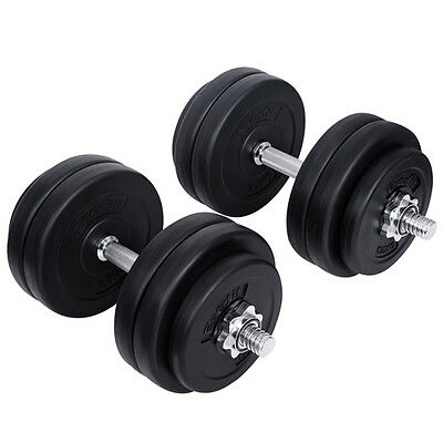 Everfit Home Gym Fitness 30kg Dumbbell Set Dumb Bells Weight Lifting Exercise
