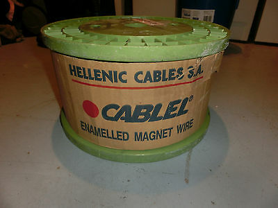 10 AWG 200C enameled magnet wire by the yard