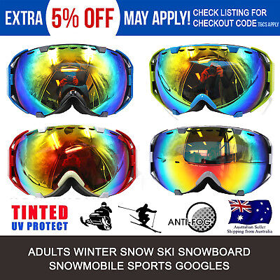 Professional Anti-fog UV Double Lens Winter Outdoor Sport Snowboard Ski GOGGLES