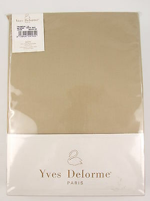 Yves Delorme - Triomphe Lin Fitted Sheet Egyptian Cotton 300Tc >75% Off Rrp X