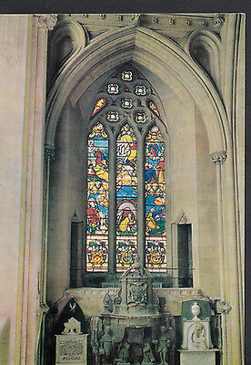 Religion Postcard - Stained Glass Window, Bristol Cathedral   LE40