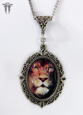 Chronicles of Narnia Aslan Inspired Necklace Lion Witch & the Wardrobe CS Lewis