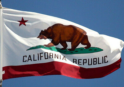 California Flag New 3x5 ft State of