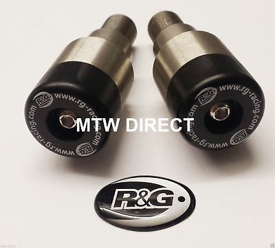R&G Racing Pair Bar End Sliders Yamaha Tdm 900 2002-2012