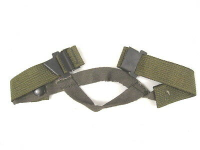 post-Vietnam US Army M1 Helmet Steel Pot Replacement Chin Strap - Mint Unissued