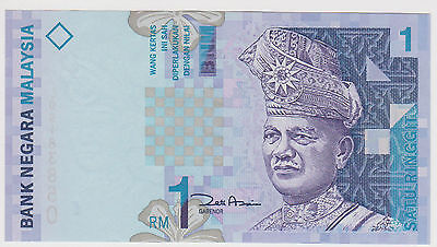 (Wp-92) 1996 Malaysia 1 Ringgit Bank Note Unc (A)
