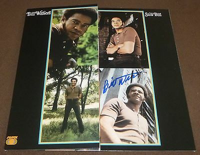 BILL WITHERS SIGNED STILL BILL RECORD ALBUM w/ PROOF! LEAN ON ME REISSUE LP