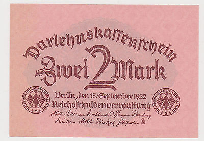 (WP-19) 1922 Germany 2 marks bank note UNC
