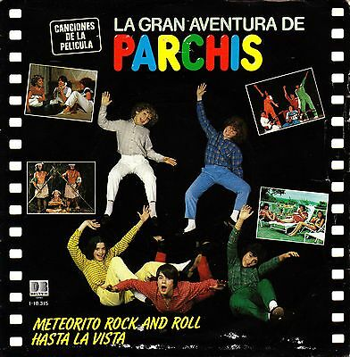 "7"" PARCHIS meteorito rock and roll 45 SPAIN 1983 children's infantiles BSO OST"