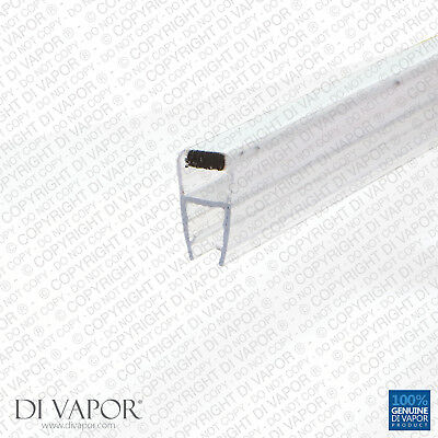 Di Vapor (R) Magnetic Shower Door Seal | 4-6mm/8mm/10mm Glass | 85cm/2m  10mm
