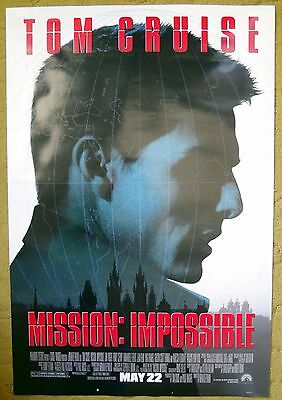 """""""MISSION IMPOSSIBLE"""" an American agent accused of DISLOYALTY - movie poster"""