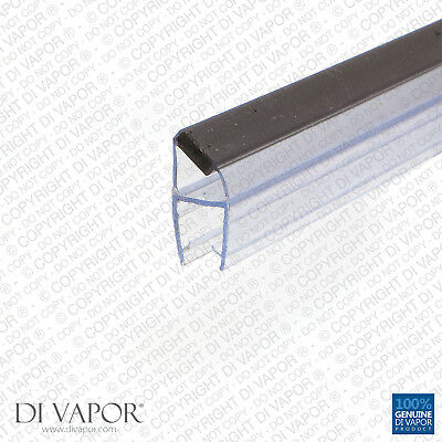 Di Vapor (R) Shower Magnetic Door Seal | 4-6mm/8mm/10mm Glass | 85cm/2m Spares