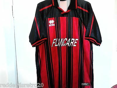 Longford Town (League of Ireland) Official Errea Football Shirt (Adult XXL)