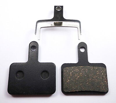 Shimano Deore Organic Resin or Semi Metal or Sintered Disc Brake Pads