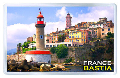 Bastia France Fridge Magnet Souvenir Iman Nevera
