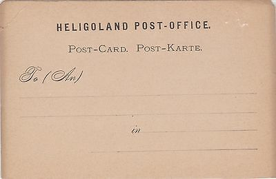 (WR-3) 1900 HELLIGOLAND postcard unused (A)