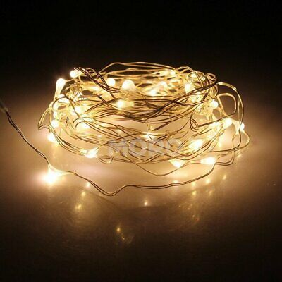 2M-10M LED Copper Wire Xmas Valentine Party Fairy String Lights Warm White