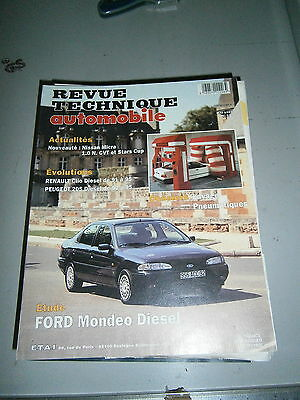 RTA  revue technique auto Ford mondeo diesel