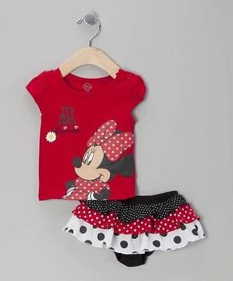 New Baby Girls Clothes Outfit set Top + Ruffle Bloomer Skirt Shorts Size 0, 1,2