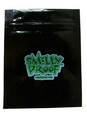 Black Smelly Proof Bags - Air Tight Grip Seal  - Multi Buy Deals - Various Sizes