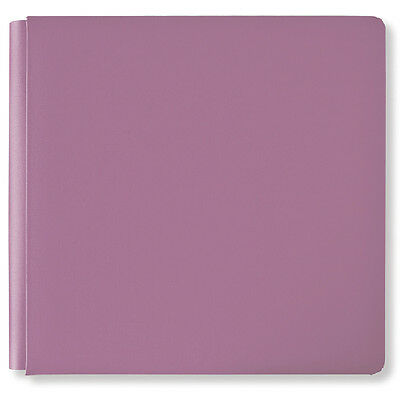 "Ahni&Zoe by CM Scrapbooking  Album leer Hülle Cover  13""x13"" NEU Victorian Lilac"