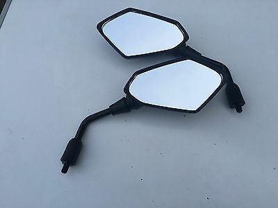 Mirrors To Fit Kawasaki Kle650 Versys Er6N E Marked New