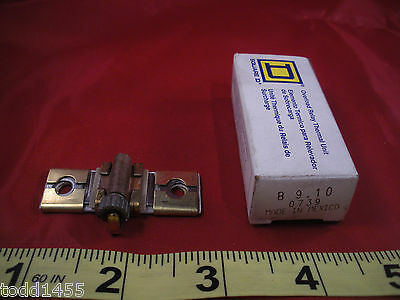 Square D B9.10 Overload Relay Thermal Unit Element Heater B 9.10 Nib New