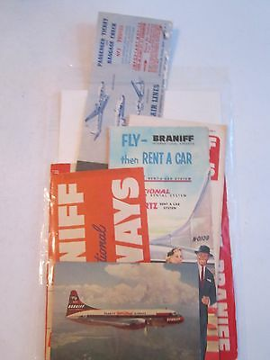Lot Of Braniff Airlines & Eastern Airlines Memorabilia Collectibles - Tub Bp