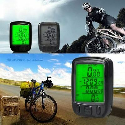 Waterproof Cycling Bike Bicycle Fashion GPS LED Computer Odometer Speedometer
