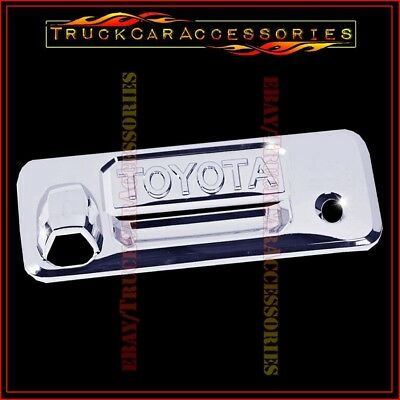 For Toyota TUNDRA 2014 2015 2016 2017 CHROME Tailgate LEVER Cover 1PC Letters
