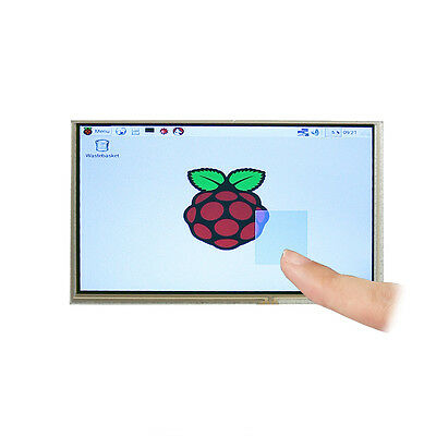 7 Inch TFT LCD Monitor Touch Screen + Driver HDMI VGA 2AV for Raspberry Pi US