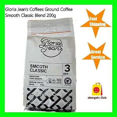 Gloria Jeans Coffees Smooth Classic Blend Ground Coffee 200g • AUD 21.69