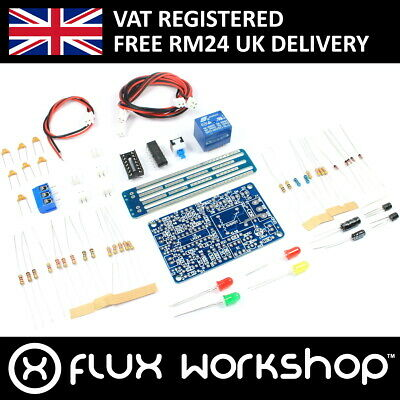 Water Level Control Module Relay unsoldered DIY Kit Liquid Flux Workshop