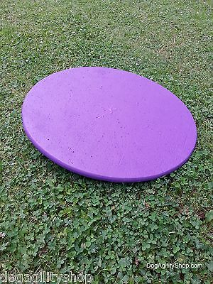 "Dog Agility Equipment 22"" Wobble Board/Purple"