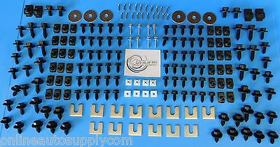 Front End Sheet Metal Hardware 206pc Kit for BUICK CADILLAC OLDS OLDSMOBILE