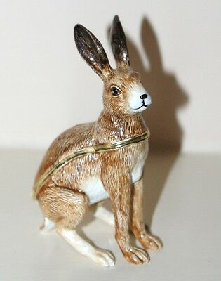 HARE Trinket Box / Ornament Gift *NEW* Boxed