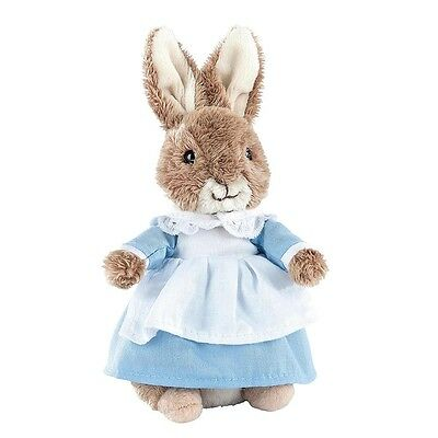 "NEW OFFICIAL GUND Beatrix Potter Mrs Rabbit 5"" Plush Soft Toy A27641"