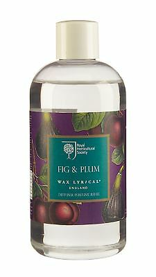 Wax Lyrical RHS Fig & Plum 250 ml Reed Diffuser Refill Oil Brand New
