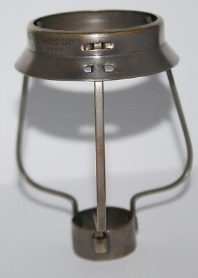 Antique Brass CANDLE LAMP SHADE HOLDER Patented - Free Postage [PL1421]