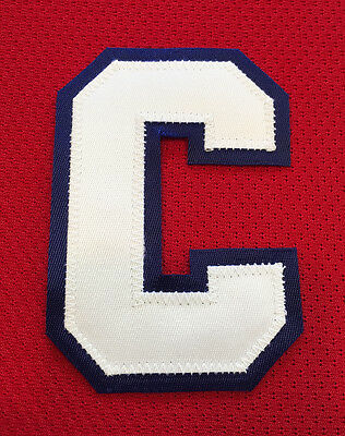 """Montreal Canadiens Sewn """"c"""" Captain Patch For Home Red Jersey Reebok"""