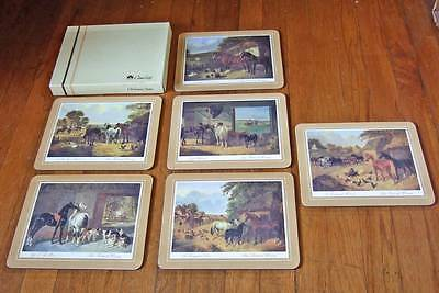 Clover Leaf Melamine Mats~set of 6~Country Life~MIB