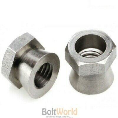 M4 to M20 A2 STAINLESS STEEL VANDAL TAMPER PROOF SECURITY METRIC SHEAR NUTS