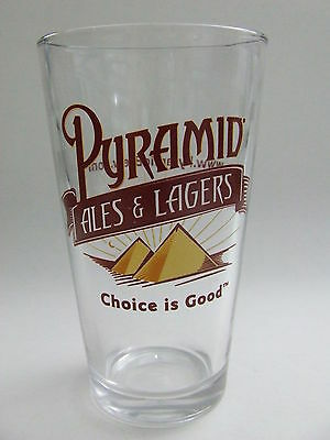 Pyramid Breweries Ales & Lagers Beer Pint Glass