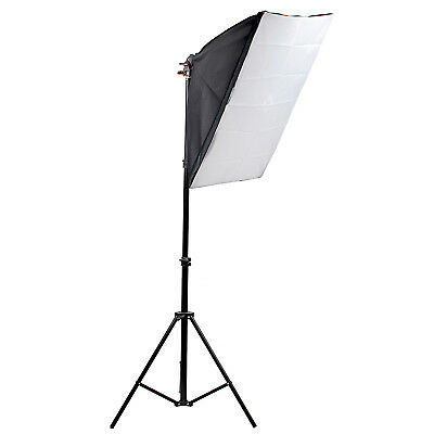 New 135W Photography Studio Photo Video Continuous Light Soft Box Kit Warranty