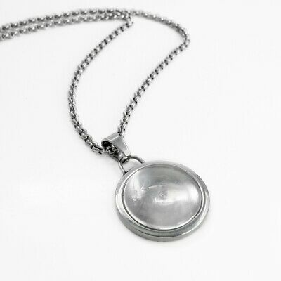 1 x Stainless Steel 18mm Cabochon Pendant Necklace Kit - DIY Set