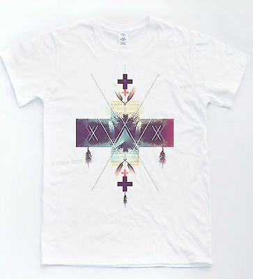 Hipster Cross Navajo T-shirt Vintage Dreamcatcher Tee Blogger Unisex Indie Top