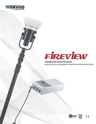 [FireView]  Smoke and Heat Detector Tester (Multi-Tester)